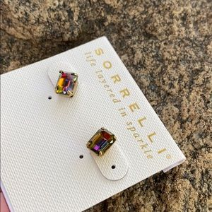 Sorrelli Volcano Essentials Pierced Earrings NWT